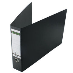 View more details about Leitz 180 Oblong Lever Arch File Board A3 Black (Pack of 2) 310680095