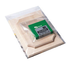 View more details about Plain Polythene Bags, 250x300mm - Pack of 1000 - 0509120100