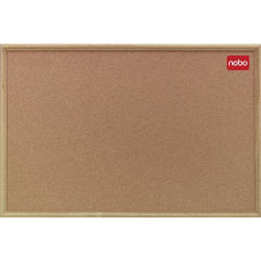 View more details about Nobo Classic Cork Notice Board, 1800 x 1200mm - 36739005