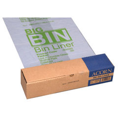 View more details about Acorn Big Bin Liners, Pack of 50 - 504293