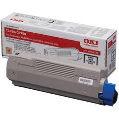 View more details about Oki C5650/C5750 Black Toner Cartridge - 43865708