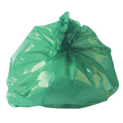 View more details about 2Work Green Medium Duty Refuse Sacks, Pack of 200 - RY15561