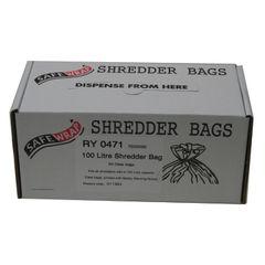 View more details about Safewrap Shredder Bag 100 Litre (Pack of 50) RY0471