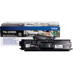 View more details about Brother TN329BK Extra High Capacity Cyan Toner Cartridge - TN329BK