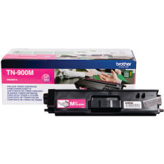 View more details about Brother TN900M Extra High Capacity Magenta Toner Cartridge - TN900M