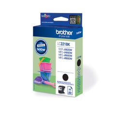 View more details about Brother Standard Yield Black Ink Cartridge LC221BK