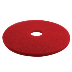 View more details about 3M 430mm Red Buffing Floor Pads, Pack of 5 - 2NDRD17