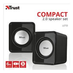 View more details about Trust Compact 6 Watt 2.0 speaker set (Watt RMS) 19830