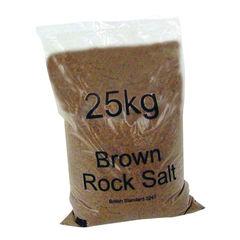 View more details about 25kg Winter Dry Brown Rock Salt - 384071