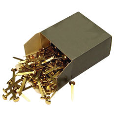 View more details about Brass Paper Fastener 40mm (Pack of 200) 36671