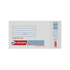 View more details about GoSecure Bubble Lined Envelope Size 1 100x165mm White (Pack of 20) PB02127
