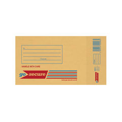 View more details about GoSecure Bubble Lined Envelope Size 1 100x165mm Gold (Pack of 20) PB02150
