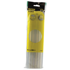 View more details about Stanley 10 Inch Dual Melt Glue Sticks, Pack of 12 - 0-GS25DT
