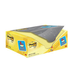 View more details about Post-it Notes 76 x 127mm Canary Yellow (Pack of 20) 655CY-VP20