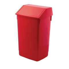 View more details about Addis Red 60 Litre Fliptop Bin - AG813421