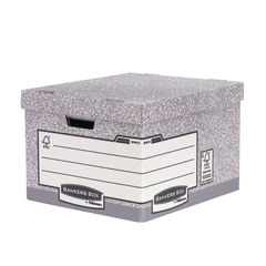 View more details about Bankers Box Large Heavy Duty Storage Box, Pack of 10 - 001812