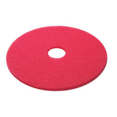 View more details about 3M 380mm Red Buffing Floor Pads, Pack of 5 - 2NDRD15