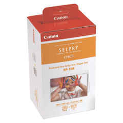 View more details about Canon RP-108IP Colour High Capacity Ink/Paper Set 8568B001AA