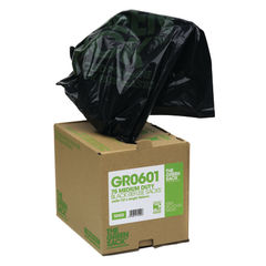 View more details about The Green Sack Medium Duty Refuse Sacks, Pack of 75 - GR0601