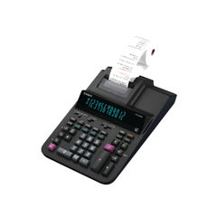 View more details about Casio 12 Digit Printing Calculator Black (Compatible with 58mm printing rolls) FR620 RE