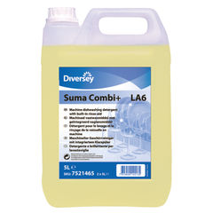 View more details about Diversey Suma Combi+ Dishwashing Detergent, Pack of 2 - 101101254