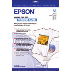 View more details about Epson Cool Peel Iron-On Transfer Paper (Pack of 10) S041154 C13S041154