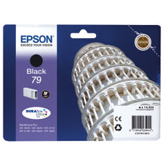 View more details about Epson 79 Black Ink Cartridge - C13T79114010
