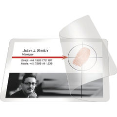 View more details about Pelltech Self-Laminating Cards 54x86mm (Pack of 100) PLG25230
