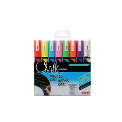 View more details about uni-ball Assorted Liquid Chalk Markers, Pack of 8 - 153494341