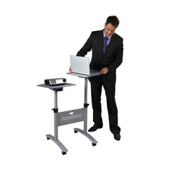 View more details about Nobo Multimedia Projection Trolley - Twin Platform 1900791
