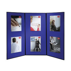 View more details about Nobo 3 Panel Lightweight Showboard Extra - 1901710