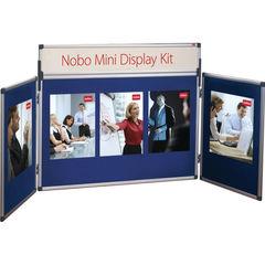 View more details about Nobo Blue Mini Desktop Display Kit - 35231470