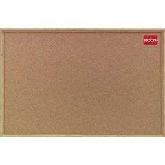 View more details about Nobo Classic Cork Noticeboard 900x600mm 37639003