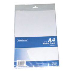 View more details about Stephens White A4 Craft Card (Pack of 10) RS045656