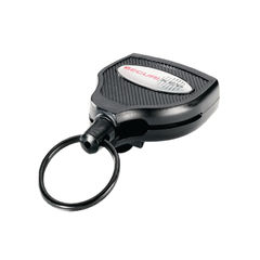View more details about Super 48 Polycarbonate Deluxe Heavy Duty Self-Retracting Key Reel Grey RHDKLOGOSKY