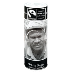 View more details about Fairtrade White Sugar Canister - 0403105