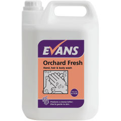 View more details about Evans 5 Litre Orchard Fresh Hand, hair and Body Wash - A153EEV2