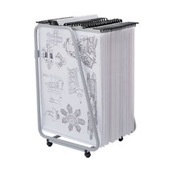 View more details about Vistaplan Grey Front Loading Trolley Carrier - FLT