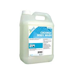View more details about 2Work Mild Coconut Body Wash 5 Litre Bulk Bottle 2W01072