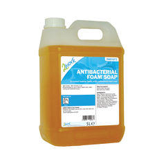 View more details about 2Work Antibacterial Foam Soap 5 Litre Bulk Bottle 2W01073