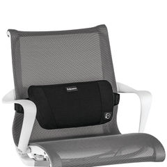 View more details about Fellowes PlushTouch Back Support Black 8026501