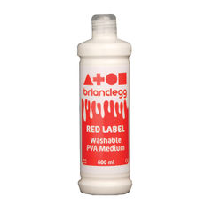 View more details about Brian Clegg PVA Glue Red Label 600ml GL600R