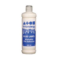 View more details about Brian Clegg PVA Glue Blue Label 600ml GL600B