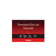 View more details about Canon A2 310gsm Premium Fine Art Smooth Paper (Pack of 25) – 1711C006