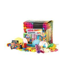 View more details about Chewbz Assorted Retro Sweets Cube - 1201052