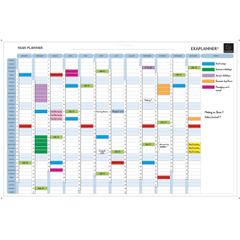 View more details about Exacompta Magnetic Perpetual Year Planner (Comes with magnets, magnet strips, pens and box) 56153E