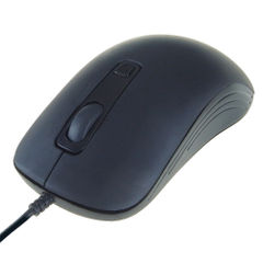View more details about Computer Gear 4 Button Optical Scroll Mouse Black 24-0543