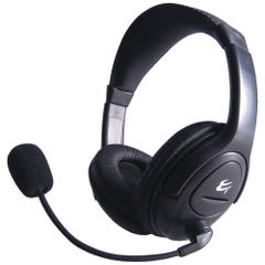 View more details about Computer Gear HP 512 Multimedia Stereo Headset With Boom Microphone 24-1512