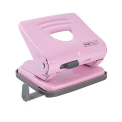 View more details about Rapesco 825 2 Hole Metal Punch Capacity 25 Sheets Candy Pink 1358