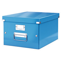 View more details about Leitz Blue Click and Store Medium Storage Box - 60440036